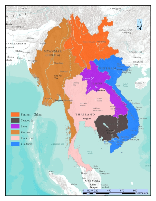 Upper Mekong Region